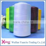 bulk sewing thread from china factory 100% spun polyester high strength sewing thread