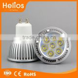 7W 2835 7SMD GU10 Led Bulbs With aluminum housing,70W Halogen Bulbs Equivalent,Warm white(3000K)