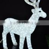 outdoor use 3D acrylic christmas led reindeer acrylic light