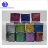 Glitter velvet ribbon 25 mm ,christmas ribbon 1 inch ,11 colors purple blue grey green yellow red etc