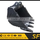1.0CBM Heavy Duty Bucket fit for 25t Excavator,Construction Machinery Parts                                                                         Quality Choice