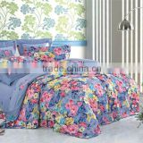 Colorful flowers bedsheet set/3d Quilt cover set/4-piece bedding set