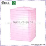 high quality square shape paper lantern for christmas decorations
