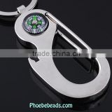 Wholesale Personalized Compass For Waist Buckle Key Chain PB-KC033
