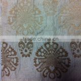 2013 fashinable flower design 100% polyester chenille fabric, jacquard fabric, sofa fabric