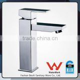 china tapware square DR brass bathroom wash hand basin tap faucets with watermark HD4201D9F