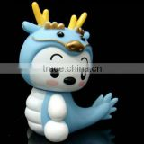 Kids gift Cute dragon soft vinyl toys/Custom Animal kids high quality soft vinyl toy/OEM soft vinyl toys manufacturers