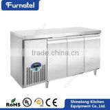 CE Approved Refrigeration Equipment Air Cooling/Static Cooling Undercounter Refrigerator