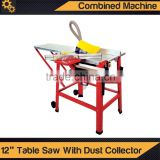 "12"" Table Saw With Dust Collector"