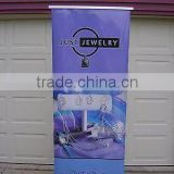 Advertising and promotion Usage and Aluminium roll up stand banner Material Roll Up Stand Banner
