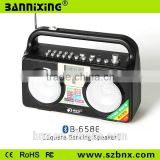 Square Dancing speaker B-658E wireless speaker with fm radio