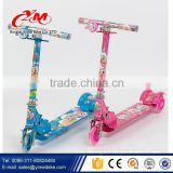 Factory direct supply Kids kick scooter 3 wheels rubber scooter/buy T bar kids scooter cheap/best quality scooter                                                                                                         Supplier's Choice