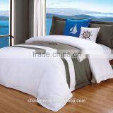 Luxury embroidered pattern high quality 5 star hotel bedding set                                                                         Quality Choice