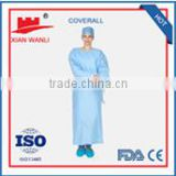 2015 new impervious gowns medical disposable products surgical gown non woven gown