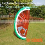 Factory price PVC water fruit watermelon pool float inflatable donut