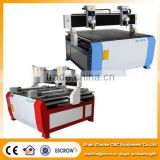 Low Price 2 Heads Wood CNC Router Machine with 2 Rotary Axis