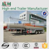 Full fuel tanker trailer dimensions 50000 liters fuel tank semi trailer