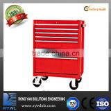 heavy duty trolleys with steel cabinets toolboxes