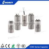 cd60 250v washing machine motor starting capacitor