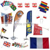 Promotional Custom Flags and Banners/Advertising Beach Flags and Banners For Trading Show