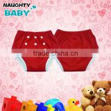 2014 Reusable One-Size Bamboo Waterproof potty Training Pants, cloth diaper