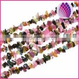 Natural tourmaline chips loose beads