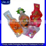 Anlida fruit jelly in plastic bag filling and sealing packaging machinery