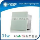 China supplier 3 years warranty 500*500 12V IP67 RGB color square led light glass bricks