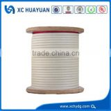 Solid Conductor Type and Fiberglass Insulation Material flat fiberglass cover aluminum wire