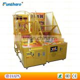 Funshare coin operated basketball arcade game machine kids basketball shooting machine