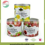 Factory directly sale round shape custom recyclable paper tube cans for dried fruit package