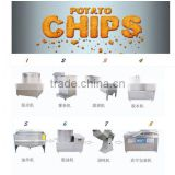 manufacturer frozen potato chips making line/potato sticks making machine/french fries production line