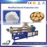 High capacity denatured potato starch production line