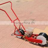 2 rows seeding machine Hand push-type vegetable planter Light weight manual seeder Carrot seeds planter