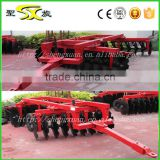 drag type heavy duty disc harrow