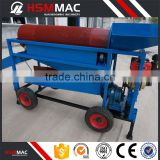HSM ISO CE High Capacity Gold Trommel Wash Plant Mini