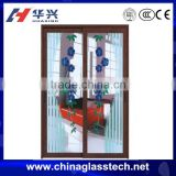 CE approved soundproof insulated glass aluminum window and door
