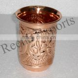 Hammered Copper cup Hammered Julep cup Copper Glass Copper Tumbler Solid Copper Mint Julep Cup Hammered cups