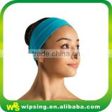 High stretchy cotton lycra women headband