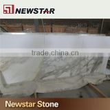 Engineered stone quartz calacatta white stone countertop for kitchen and bathroom