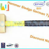 Non-sparking Aluminum Bronze Hammer Sledge German Type With Fiber Handle,Explosion-proof Hammer Sledge