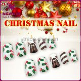 Soak off Christmas nail art design supplied in China
