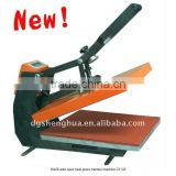Semi-automatic heat press machine,tshirt, jersey, mouse pad, poster sublimation transfer printing