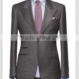 bespoke tailoring made MTM customized men tailored made to measure men slim fit gray suits
