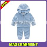 Custom 100%Cotton Spring Autumn Baby Boys Sports Clothing Sets Kids Set Children Garment