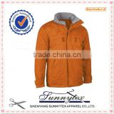sunnytex design 2014 winter office polo jacket uniform wholesale
