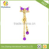 Fashion Body Piercing Navel Rings Zircon Bowknot Belly Button Rings