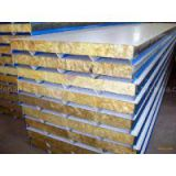 Rockwool Fireproof Insulation Roof Panel/Fireproof Glass Wool Insulation/Rock Wool Acoustic Wall Panel
