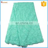 New arrive Factory cotton guipure cheap lace fabric with stone B2015090857