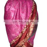 Women ethnic silk wrap skirts